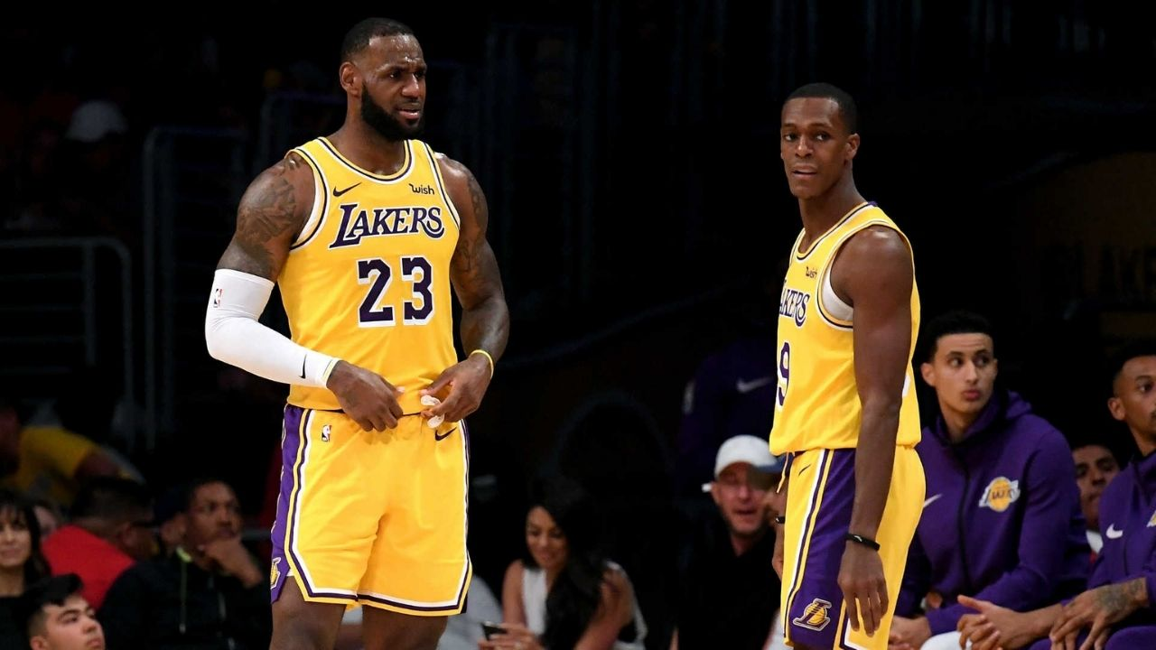 'It doesn't show in the stat sheet': LeBron James explains Rajon Rondo's impact in Lakers' game 2 win vs Rockets