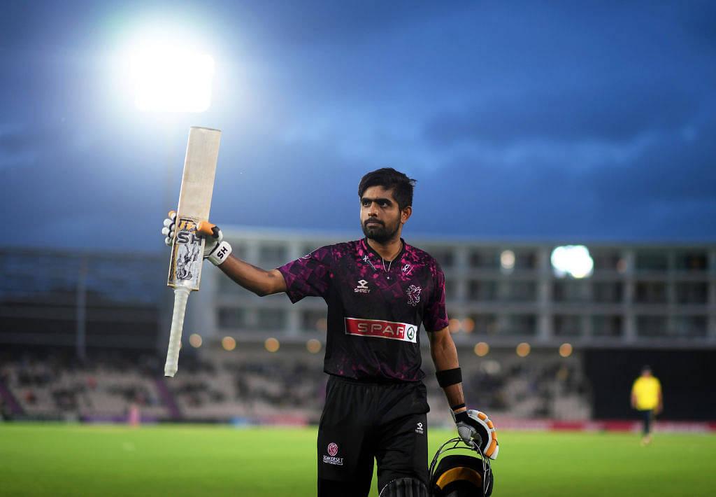 Vitality Blast 2020: Somerset's Babar Azam slams fourth T20 century and career-best score vs Glamorgan