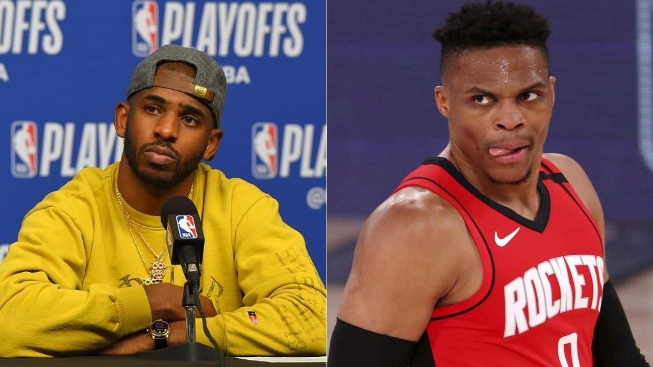 Chris Paul takes dig at Russell Westbrook