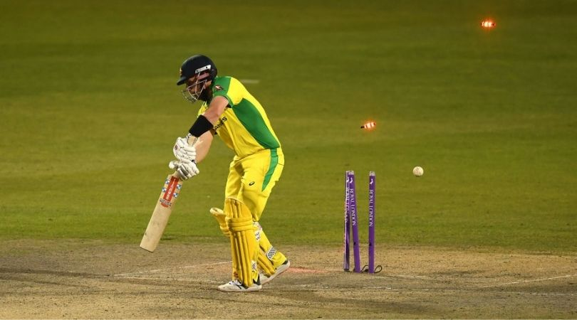 Chris Woakes: English player sends back Aaron Finch and Glenn Maxwell in successive overs