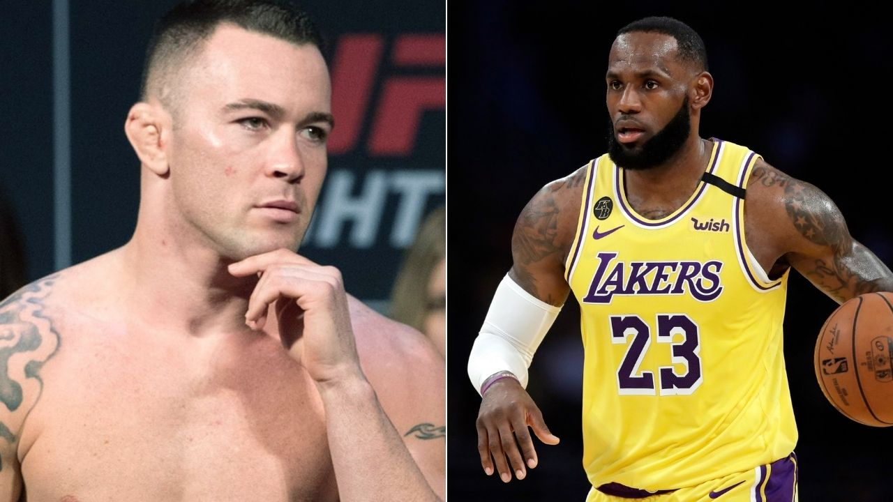 Colby Covington on LeBron James