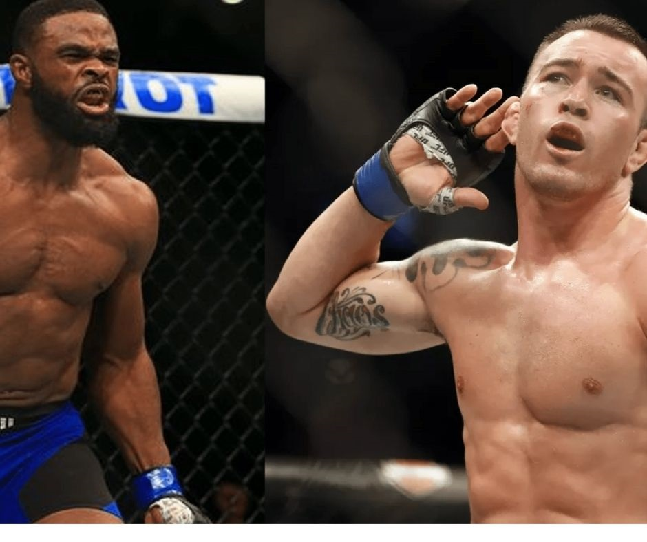 """""""He Brought In Masvidal To Learn How To Lose""""- Colby Covington Mocks Tyron Woodley Ahead of UFC Vegas 11"""