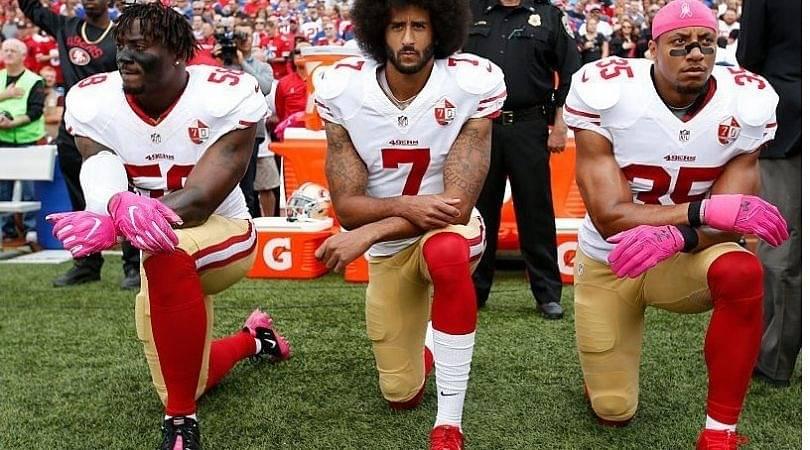 """NFL Runs Propaganda"", Colin Kaepernick Calls Out NFL For Blackballing Eric Reid"