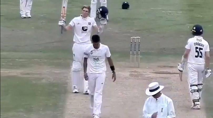 Zac Crawley: Kent batsman scores quickfire century to seal chase vs Hampshire