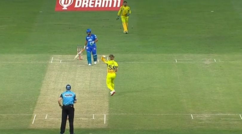 DC vs CSK 2020: Sam Curran gifts Rishabh Pant four runs in IPL 2020