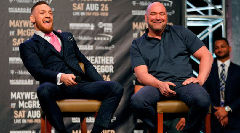 Dana White hints at Conor McGregor UFC return