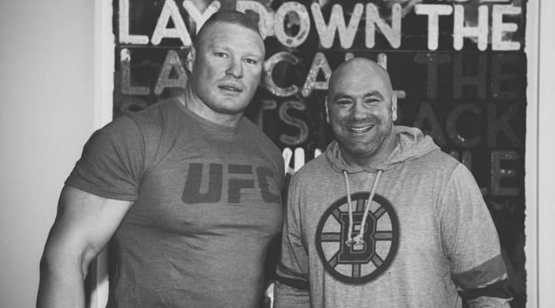 Dana White opens up on whether he thinks Brock Lesnar will ever return to the UFC