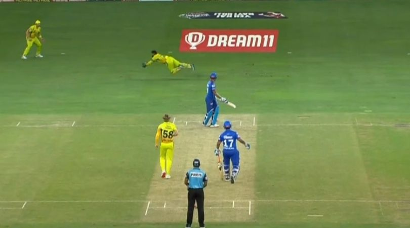 MS Dhoni catch vs Delhi Capitals: Watch CSK captain grabs flying catch to dismiss Shreyas Iyer in IPL 2020