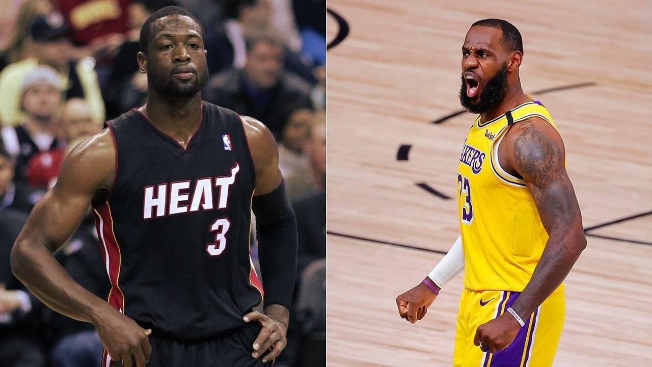 Dwyane Wade on Heat or LeBron James
