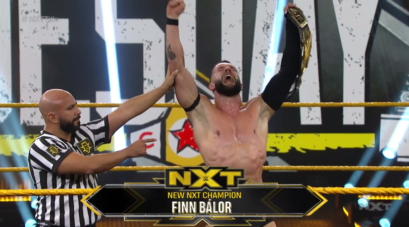 Finn Balor beats Adam Cole to become 2-time NXT Champion