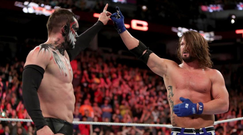 Finn Balor on teaming up with AJ Styles