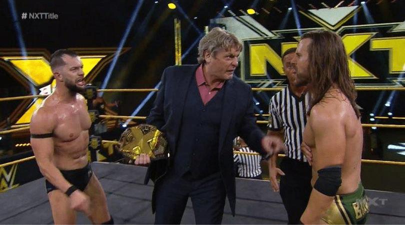 Finn Balor vs Adam Cole announced for the NXT Title after 4-way Iron man match