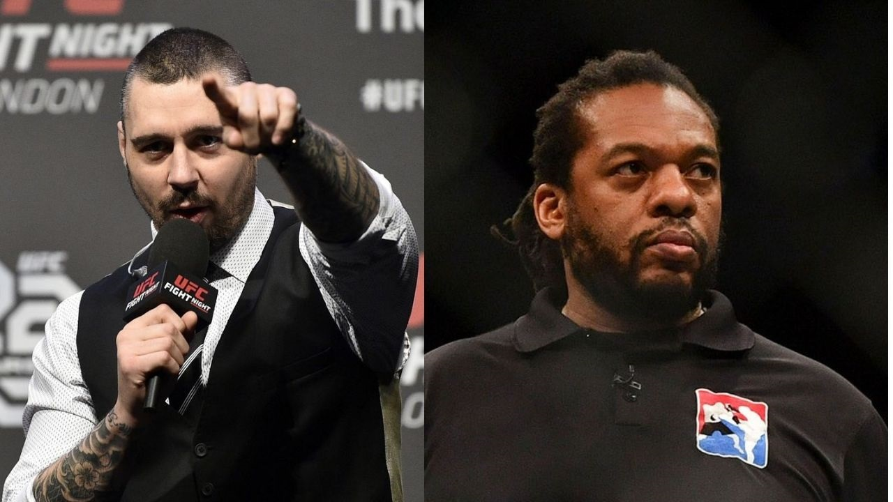 Dan Hardy Opens Up About Confrontation With Referee Herb Dean
