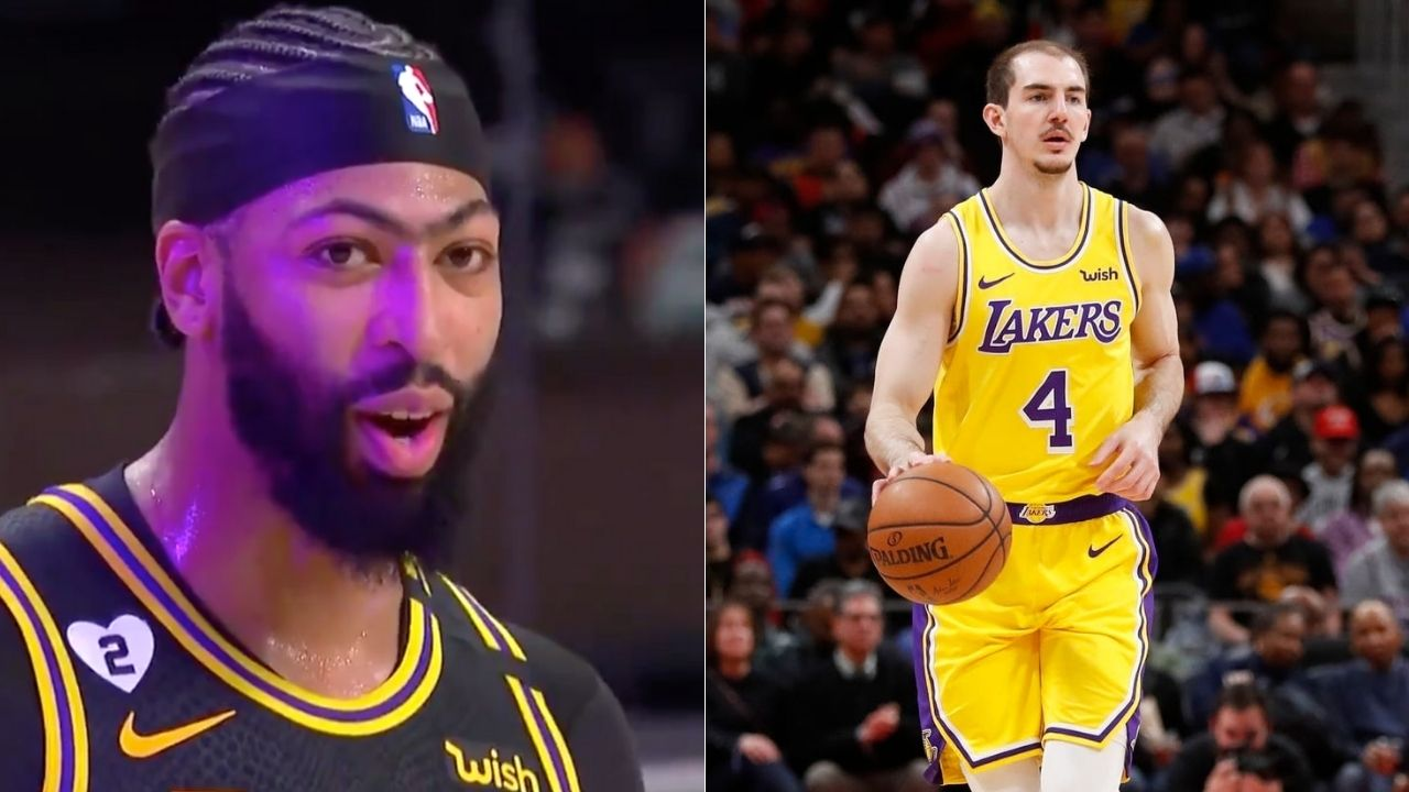 'He's the GOAT': Anthony Davis on Alex Caruso
