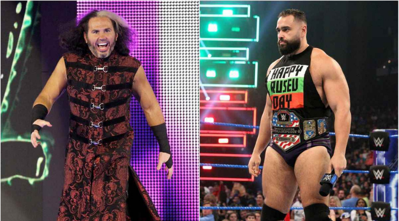"""""""I love how AEW acknowledges all of pro wrestling"""" – Matt Hardy takes a dig at WWE for not tagging Miro on their post"""