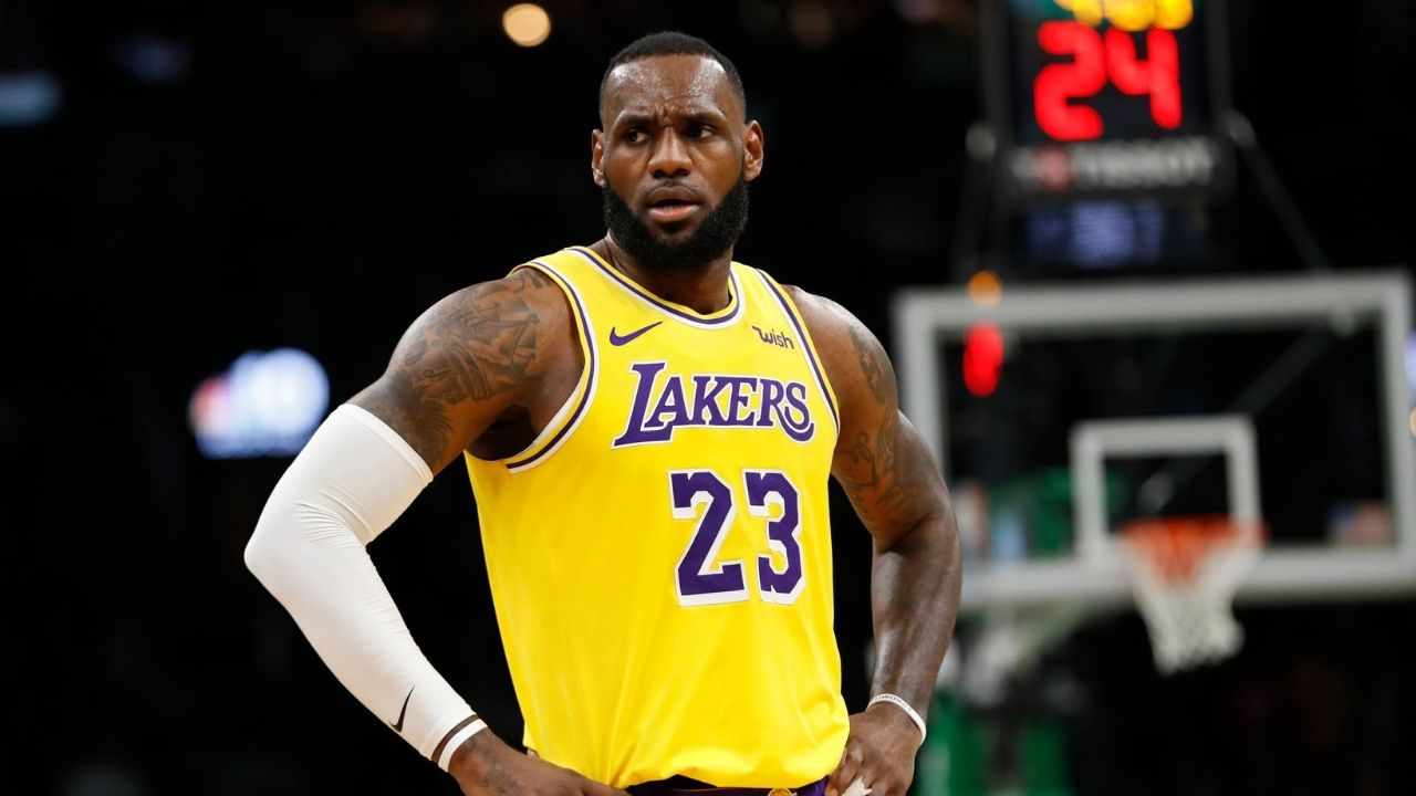 Is LeBron James playing tonight vs Nuggets