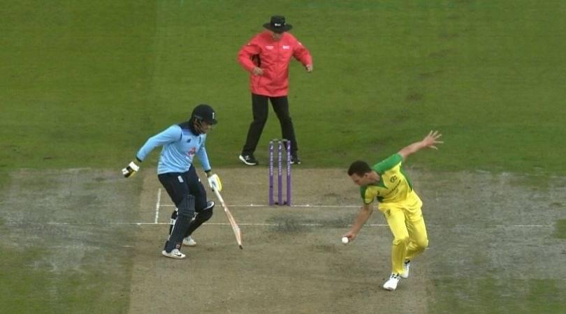 Josh Hazlewood catch vs England: Watch Australian pacer grabs stunner off own bowling to dismiss Jason Roy