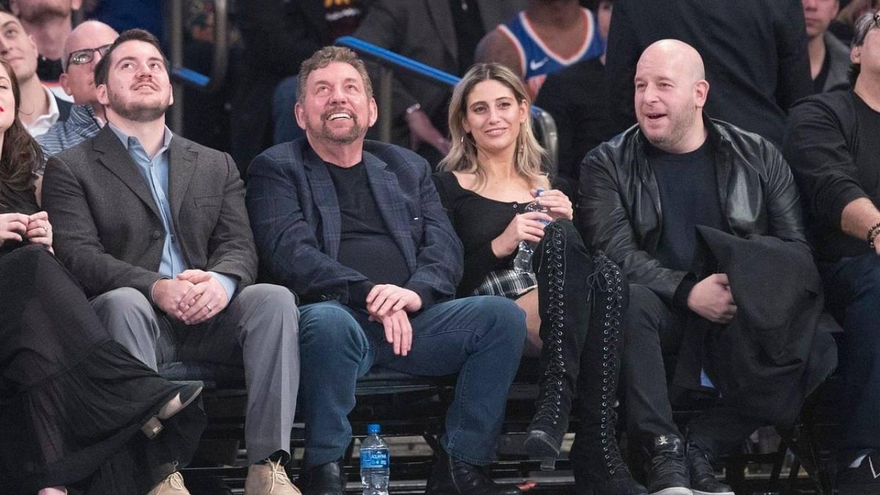 Knicks Owner James Dolan Max Rose