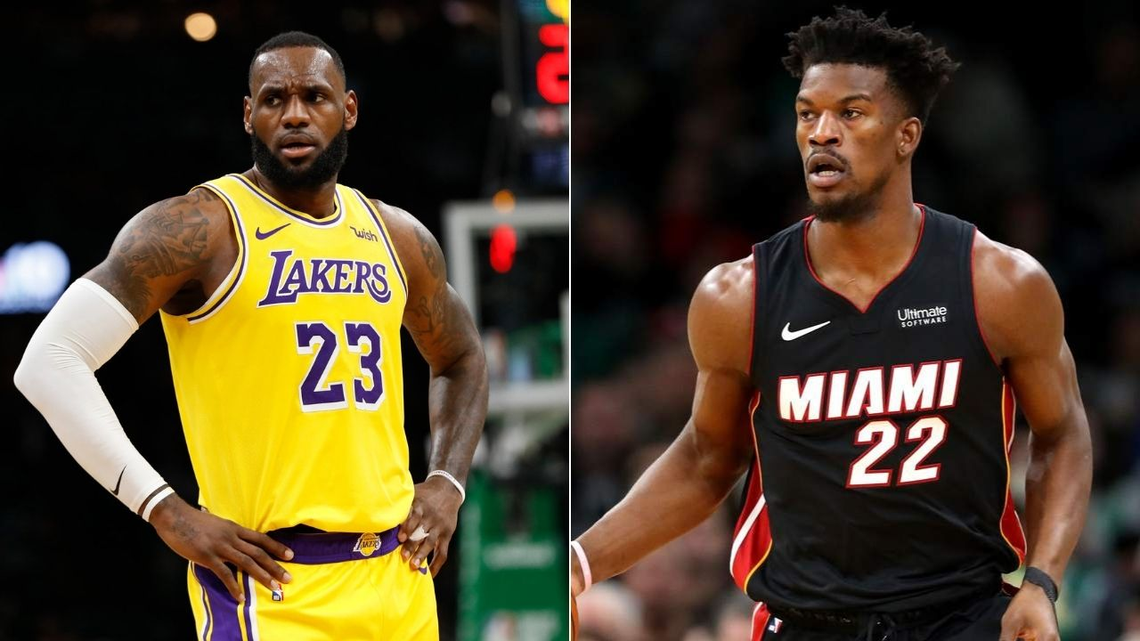 Lakers Wanted To Sign Jimmy Butler Lebron James And Co Wanted Heat Star After Anthony Davis Trade The Sportsrush