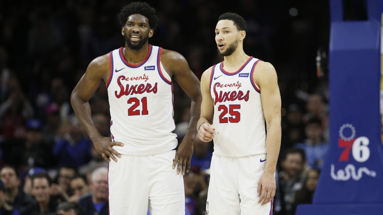 Ben Simmons and Joel Embiid don't get along