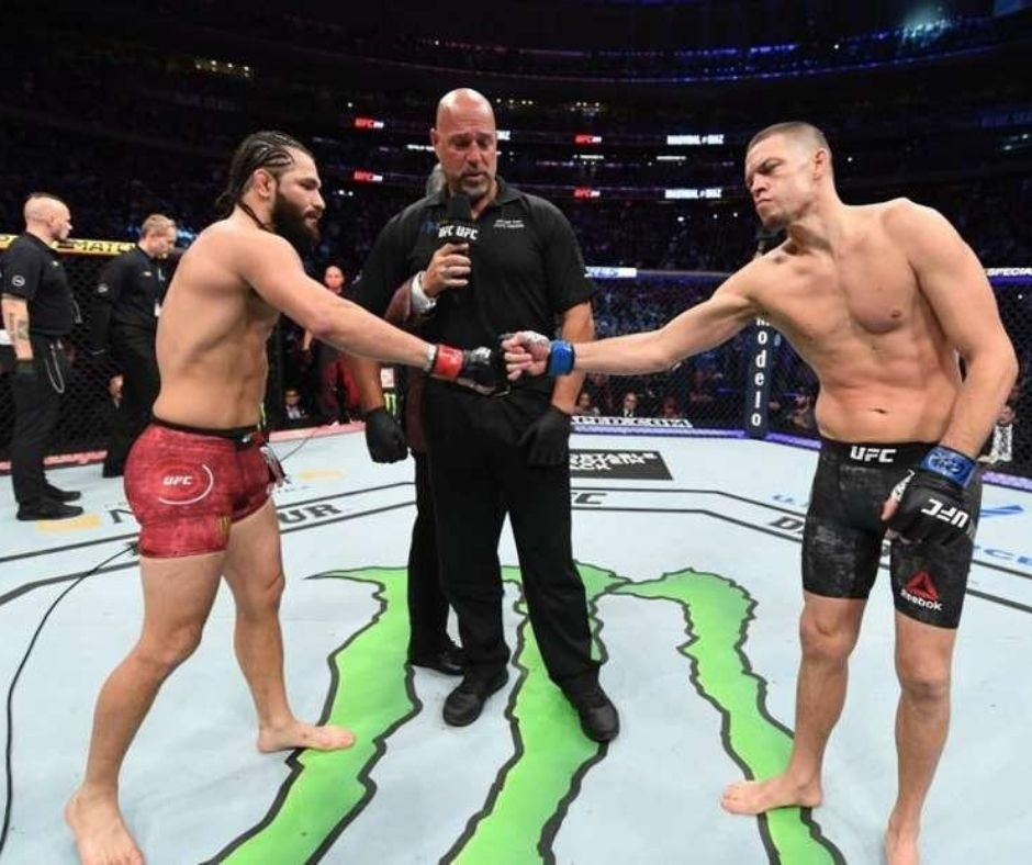 Jorge Masvidal Vs. Nate Diaz Rematch in Talks and May Headline Another Marquee Event