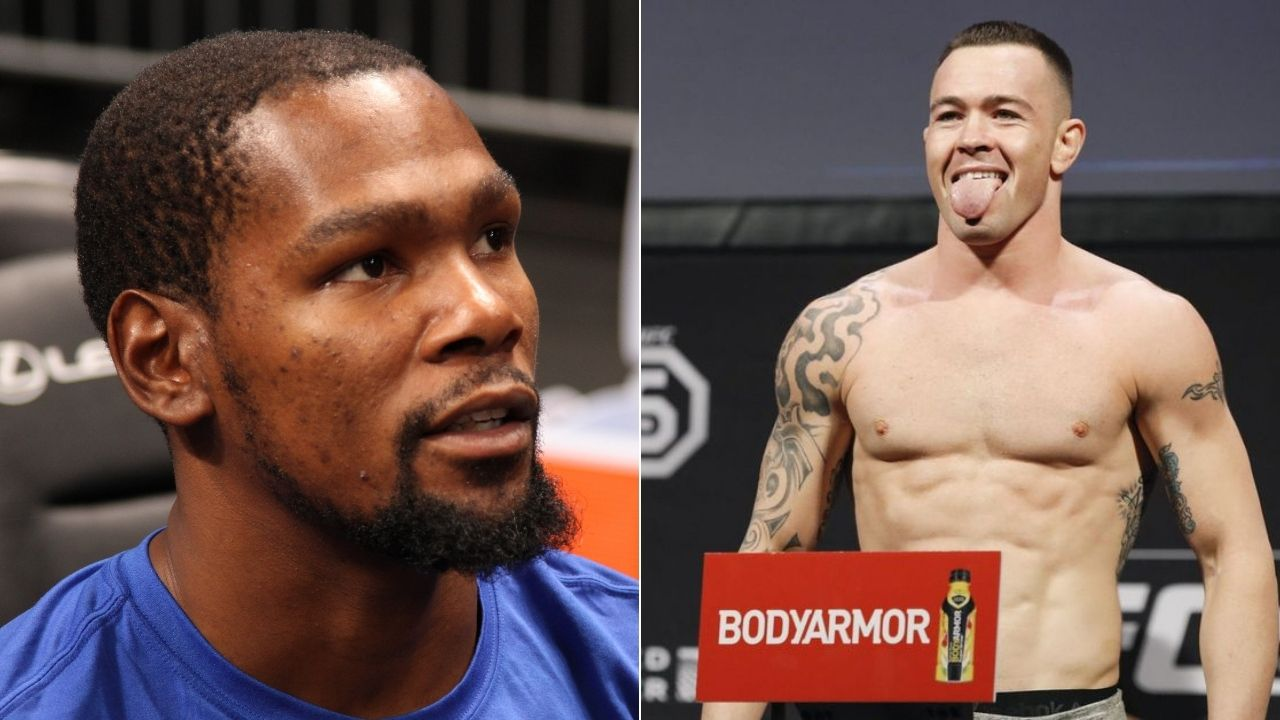 Kevin Durant on Colby Covington