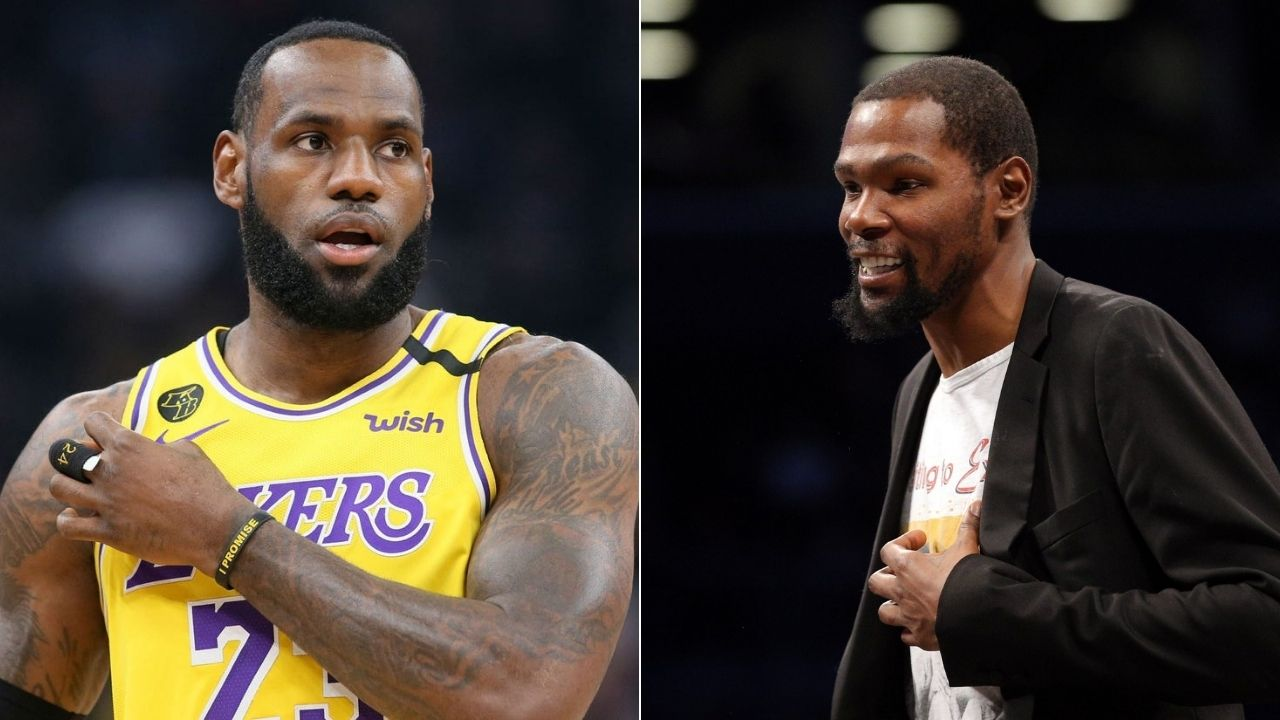 Kevin Durant on LeBron James MVP