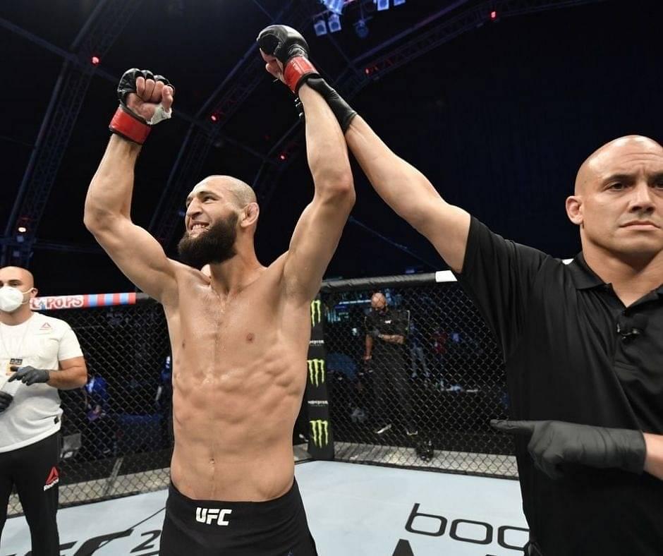 Khamzat Chimaev Registers The Quickest Win Hattrick In The History Of UFC; Watch His Incredible KO Victory Against Gerald Meerschaert