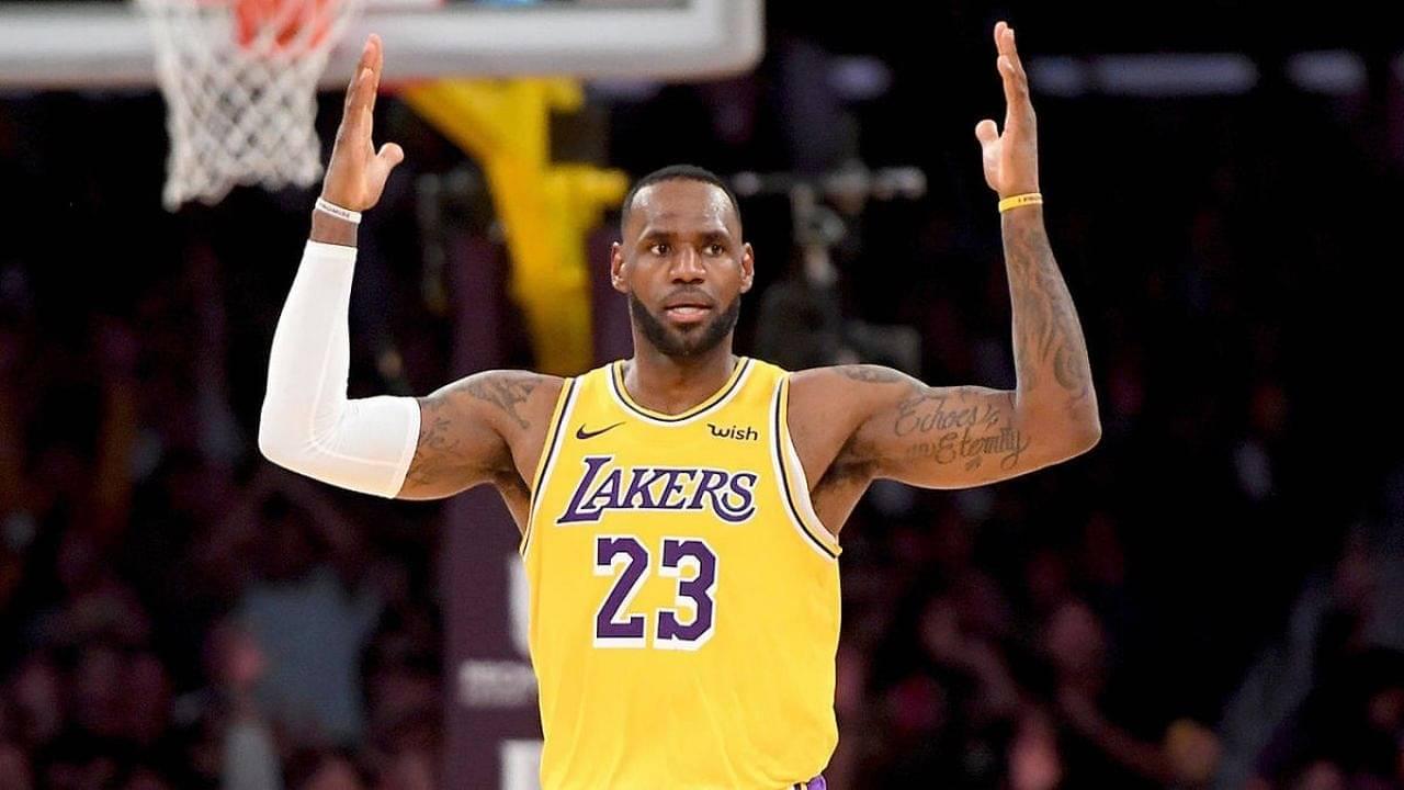 LeBron James not getting enough free throws