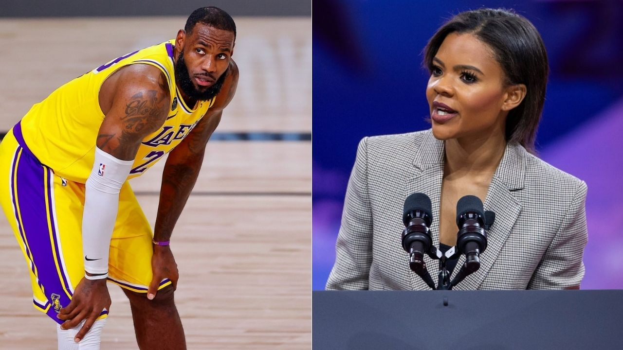 LeBron James and Candace Owens