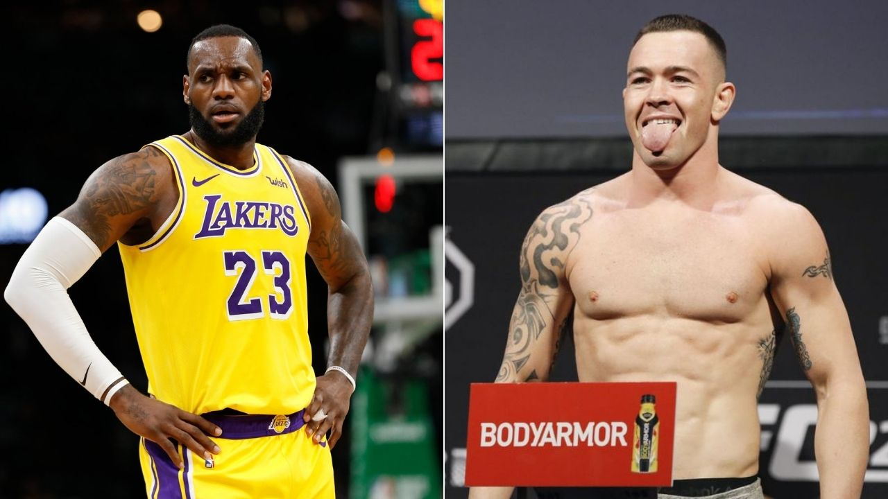 LeBron James fires back at Colby Covington