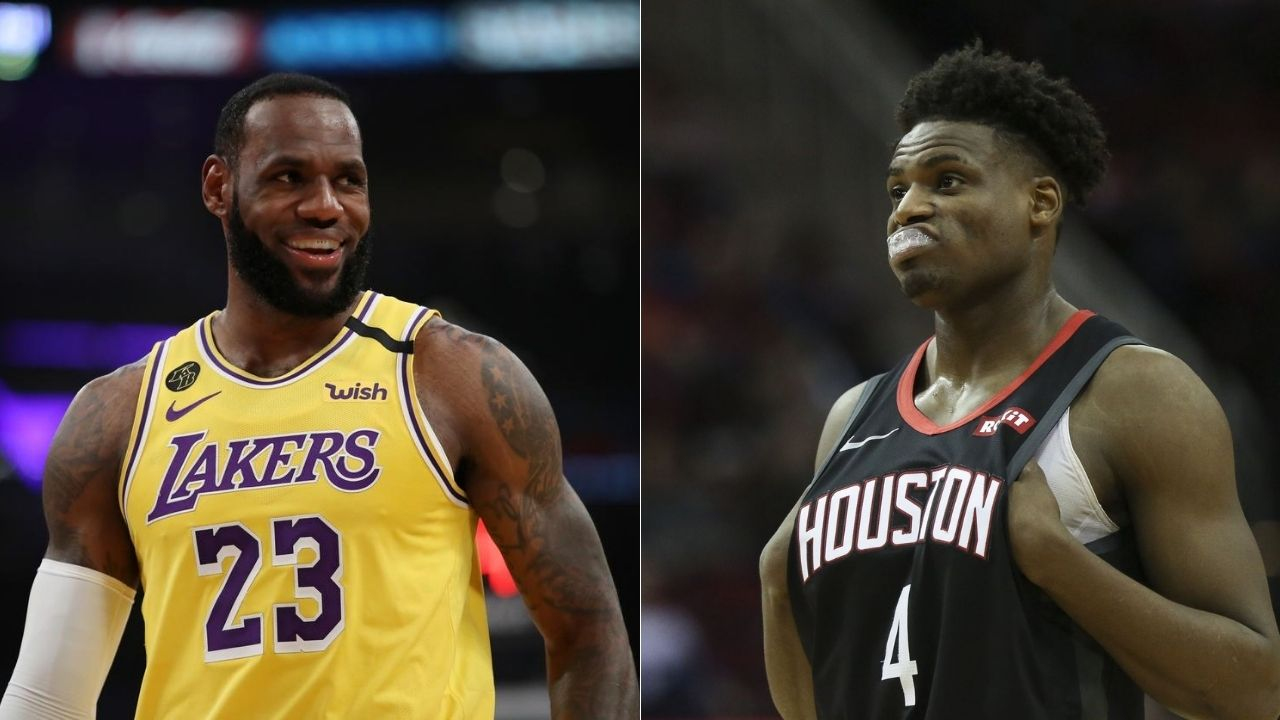 LeBron James snitched on Danuel House
