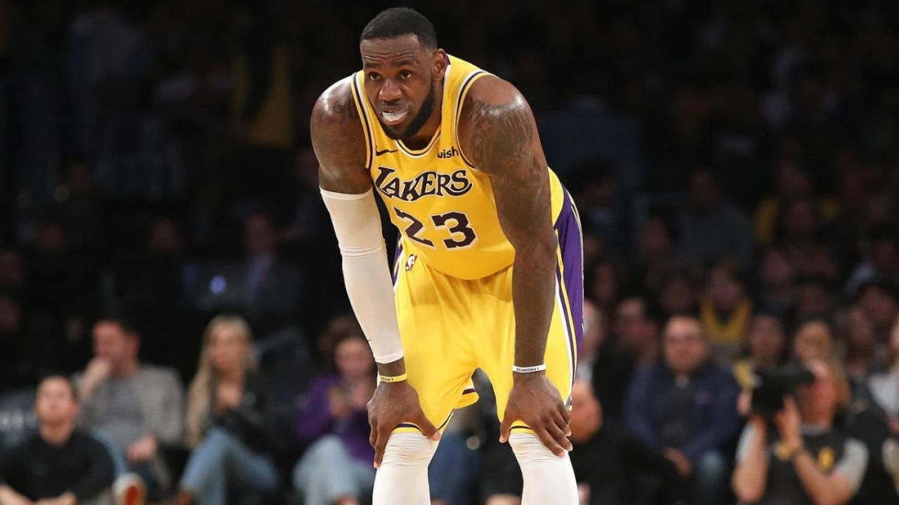 LeBron James and Lakers whining