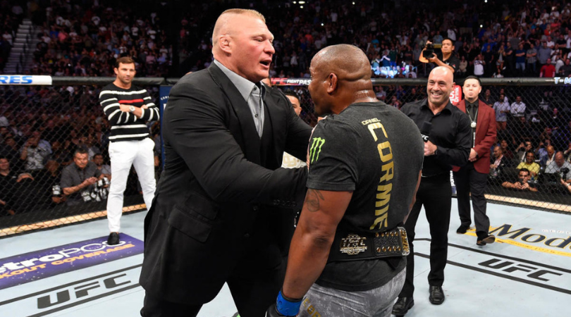 """""""I want to wrestle with Brock in the WWE"""" – Daniel Cormier"""