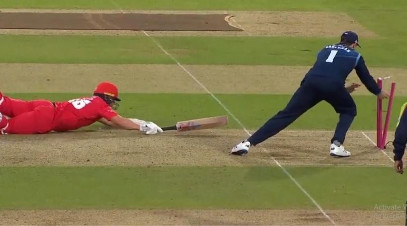 Matt Critchley run-out vs Lancashire: Watch Derbyshire all-rounder leads gobsmacking run-out to dismiss Steven Croft