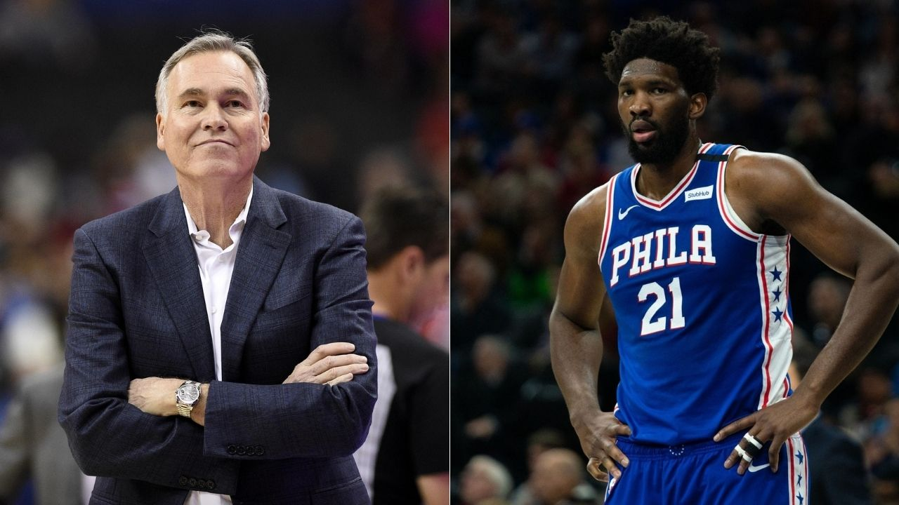 Joel Embiid and Mike D'Antoni