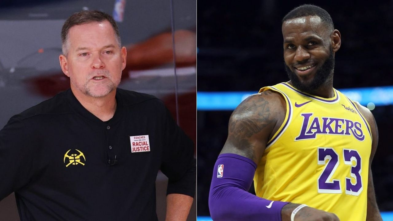 Mike Malone on LeBron James free throws
