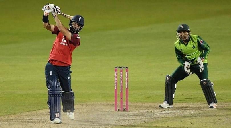 Mo Ali cricket: English all-rounder scores fighting T20I half-century in losing cause vs Pakistan