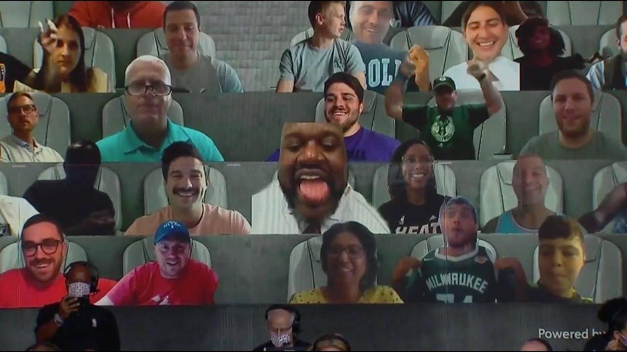 NBA Virtual fans mooning