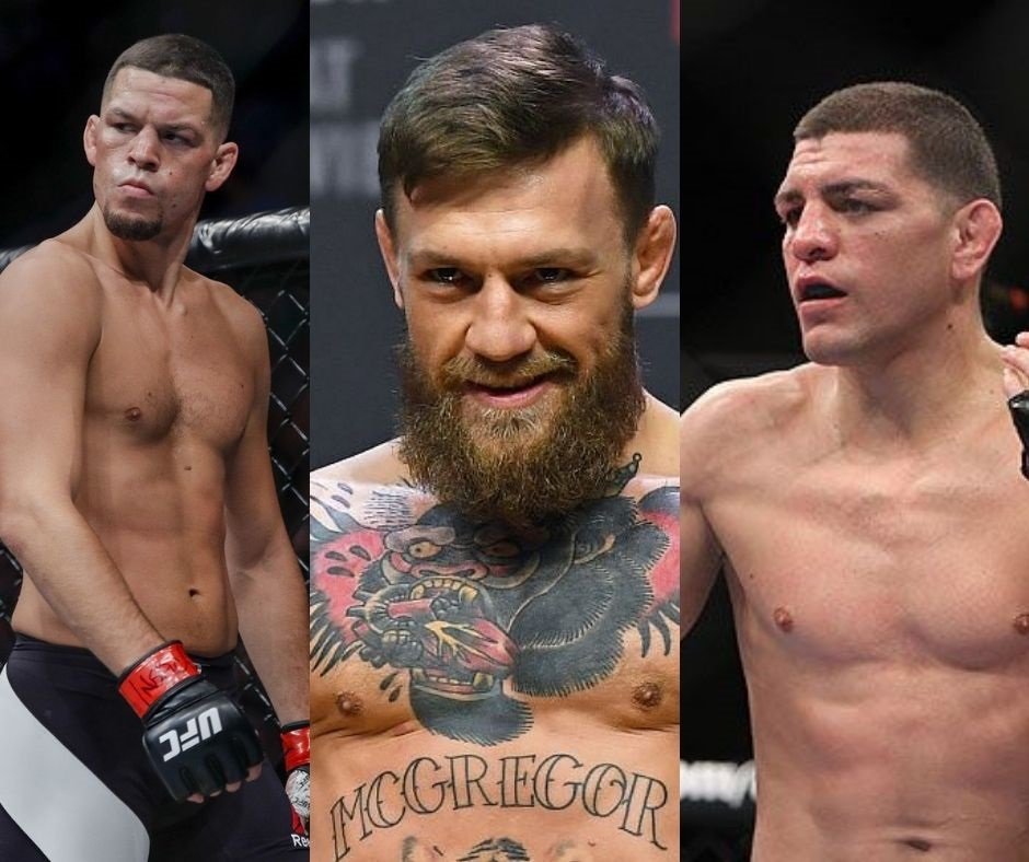 """""""Line Them Up""""- Conor McGregor Apparently Wants a Piece Of Both Diaz Brothers"""