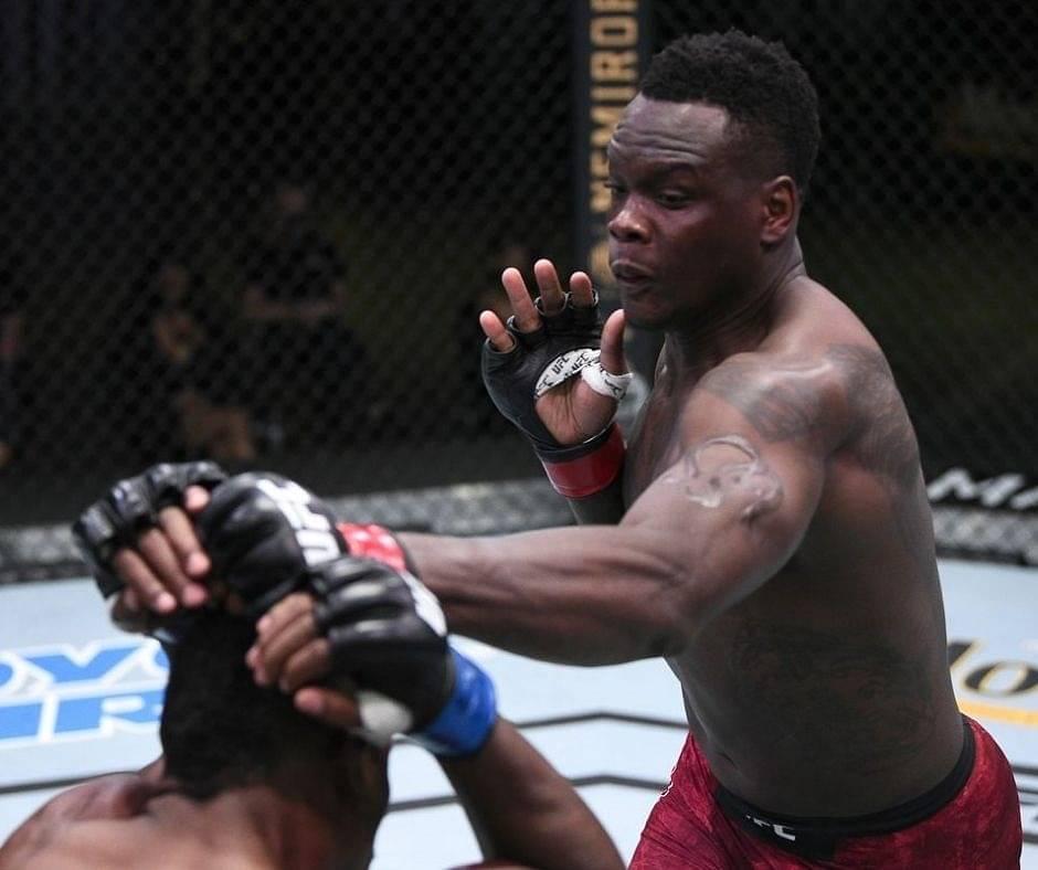 Watch: Ovince Saint Preux KO's Alonzo Menifield At UFC Vegas 9