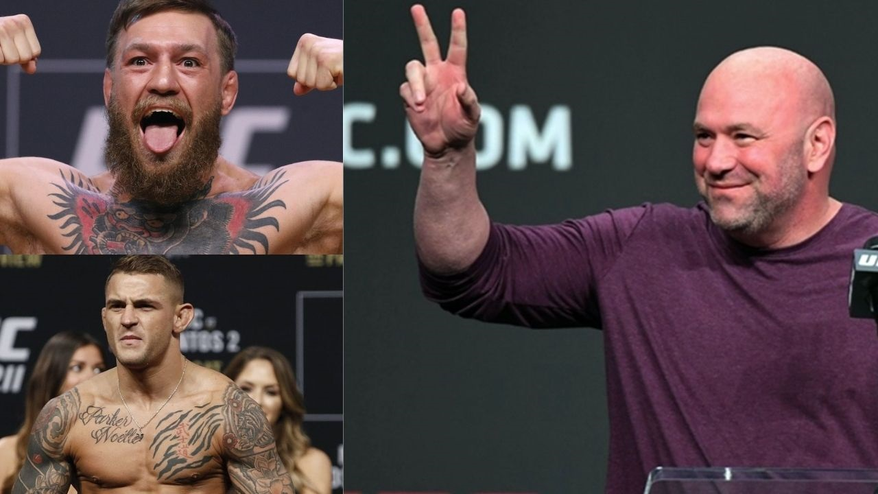 """""""We offered Dustin and Conor a fight""""- Dana White Reveals Conor McGregor Vs. Dustin Poirier 2 is in Works"""
