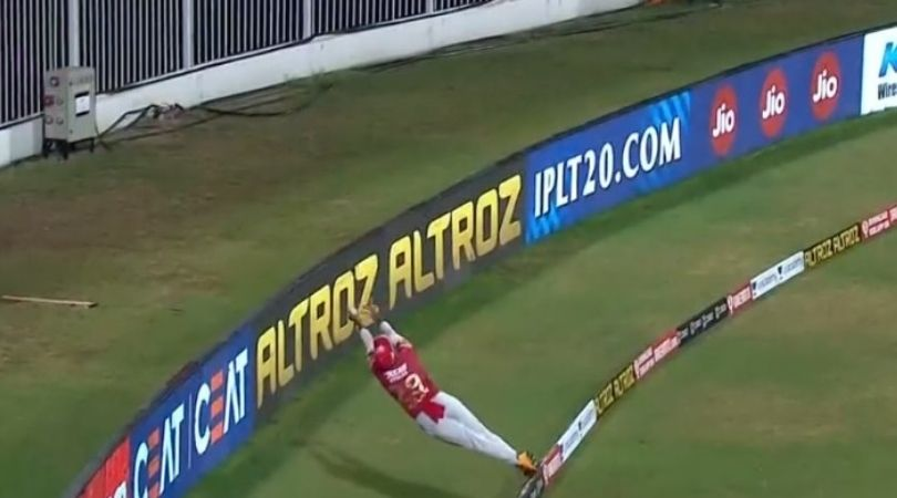 Nicholas Pooran Cricket Player: Watch KXIP batsman's unbelievable fielding effort vs Rajasthan Royals