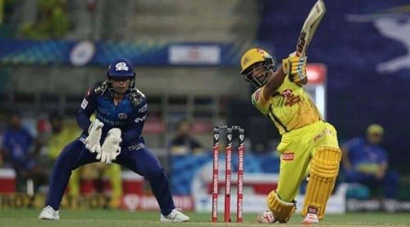 Why is Ambati Rayudu not playing today's IPL 2020 match vs Rajasthan Royals?
