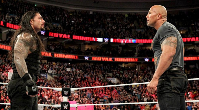 Roman Reigns comments on a possible Wrestlemania clash vs The Rock