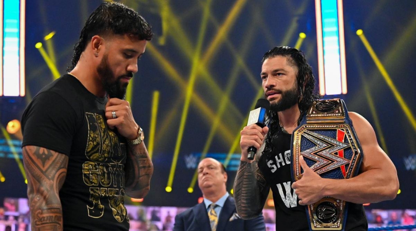 Roman Reigns cuts a scathing Twitter promo on Jey Uso ahead of Clash of Champions