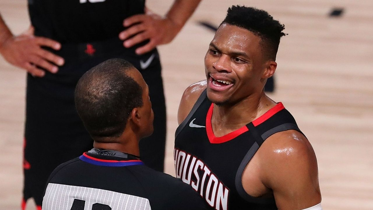 Russell Westbrook angry William Rondo