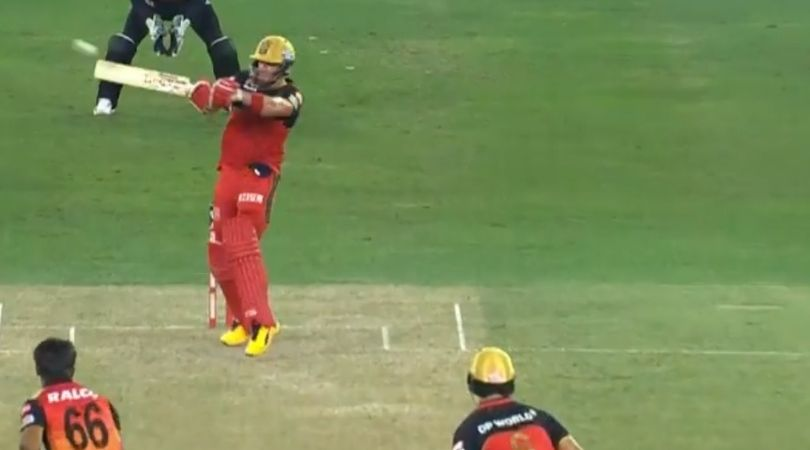AB de Villiers vs SRH: RCB batsman smashes two first-rate sixes off Sandeep Sharma in IPL 2020