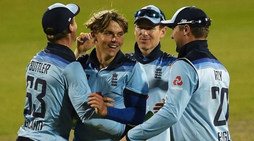 Why is Sam Curran not playing today's third ODI between England and Australia in Manchester?