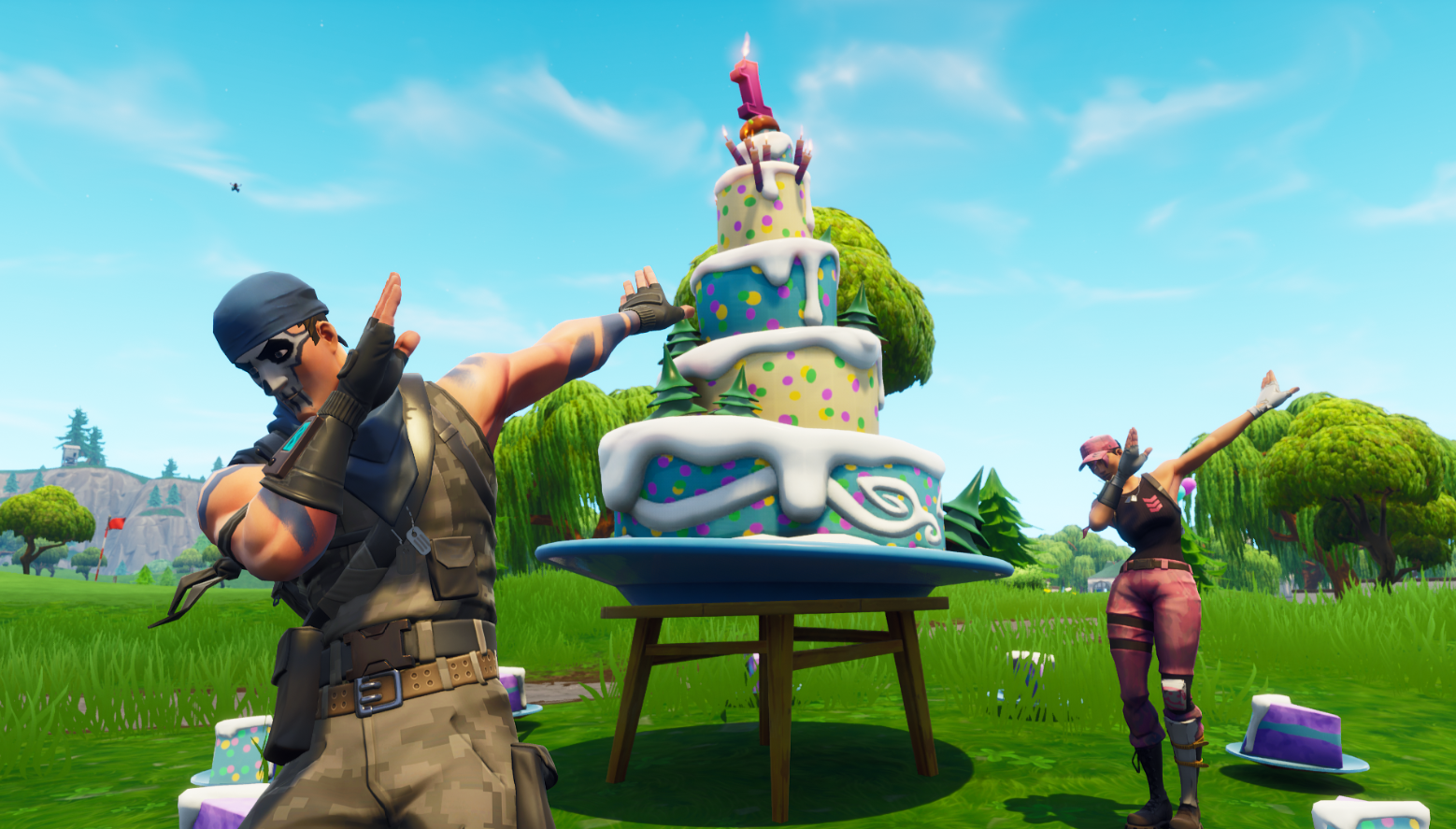 Where Are The Birthday Cakes In Fortnite The Sportsrush